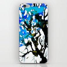 Blue ash iPhone & iPod Skin