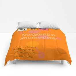 Tequila Sunrise Comforters