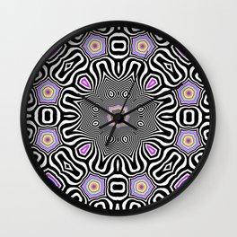 Candy & Mint Pattern No.3 Wall Clock