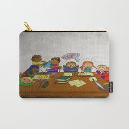 Stack of Books Kids Carry-All Pouch