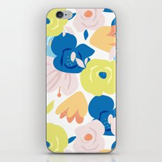 Painterly Blooms iPhone & iPod Skin
