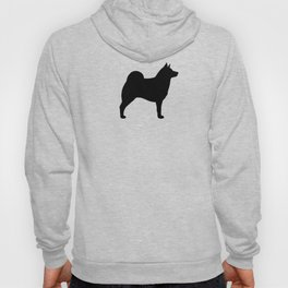 Norwegian Elkhound Silhouette Hoody