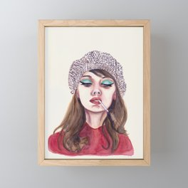 60s Cool Framed Mini Art Print