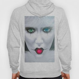 Harlequin Eyes Of A Different Color Hoody