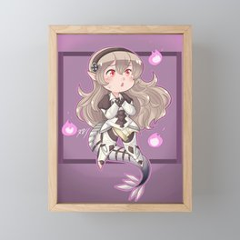 Darkness Within Corrin Framed Mini Art Print