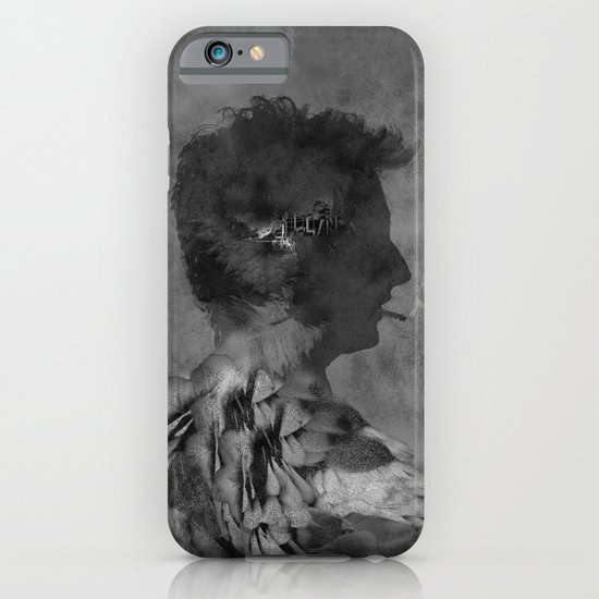 A tribute to Alain Bashung iPhone & iPod Case