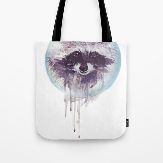 Hello Raccoon! Tote Bag