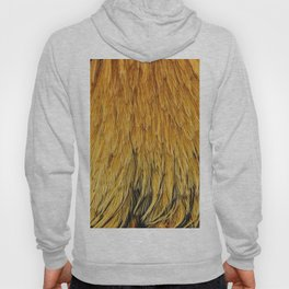 Fancy Rooster Feathers Hoody