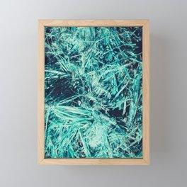 Sea sling fibers texture Framed Mini Art Print