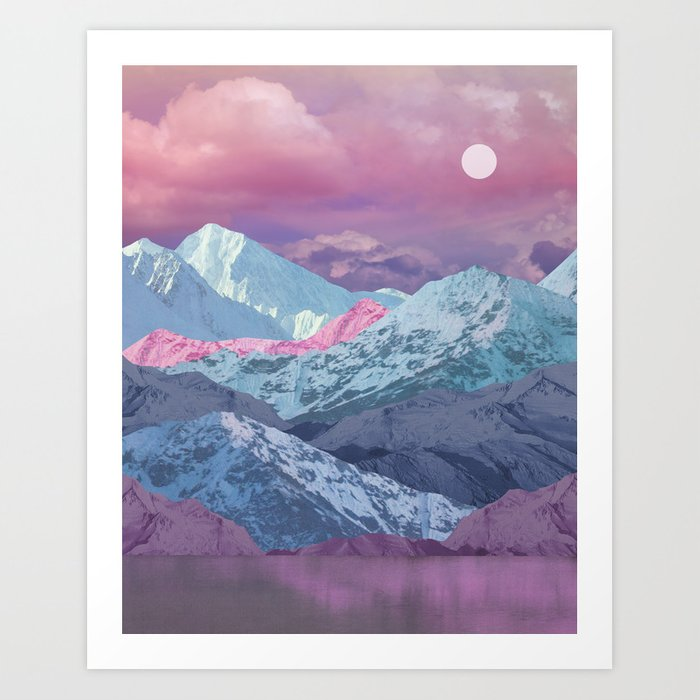 Heaven's End Art Print