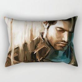 Derek Hale * Tyler Hoechlin Rectangular Pillow