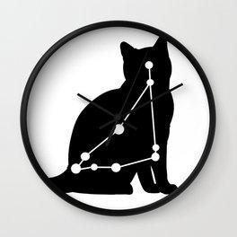 capricorn cat Wall Clock