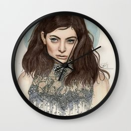 Lorde @ the Oscars Wall Clock