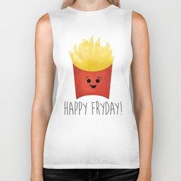 Happy Fryday! Biker Tank