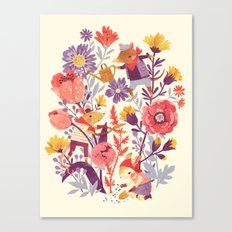 The Garden Crew Canvas Print