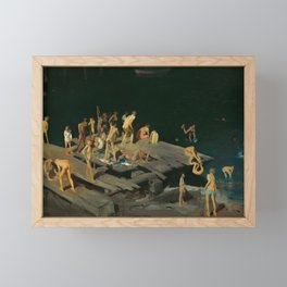George Bellows - Forty-two Kids, 1907 Framed Mini Art Print