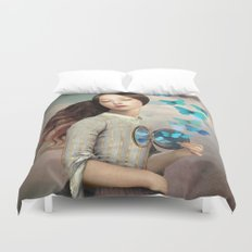 Set Your Heart Free Duvet Cover