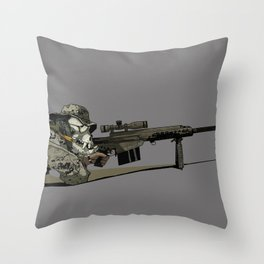 Teufelhund Throw Pillow