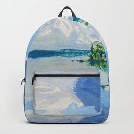 Akseli Gallen-Kallela - Summer Landscape Of The Lake Keitele, Aanekoski, Finland Backpack