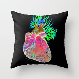 'Be My Barnacle' Heart Throw Pillow