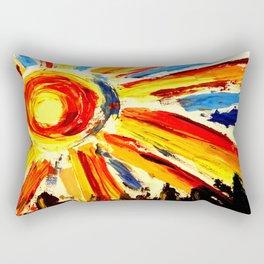 Big Sun Rectangular Pillow