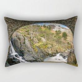 Pont Pen y Benglog Bridge Snowdonia Rectangular Pillow