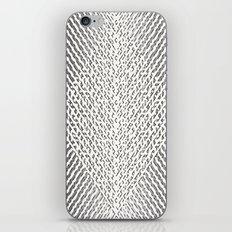 Stripes In Black & White iPhone & iPod Skin