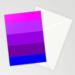Transgender flag  by Jennifer Pellinen Stationery Cards