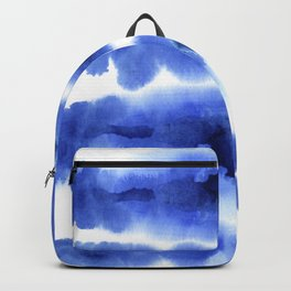 Indigo Watercolor Pattern 13 Backpack