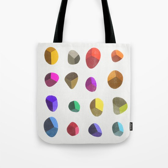 Painted Pebbles 2 Tote Bag