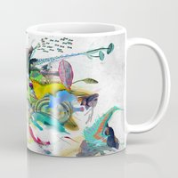 archan nair Mugs featuring Numb by Archan Nair
