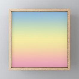 Sunrise Framed Mini Art Print