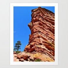 Redrocks Art Print