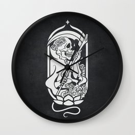 Death Tarot Wall Clock