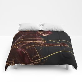 The Flash triptych FLASH Comforters