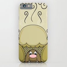 Cute Monster With Yellow Frosted Cupcakes Slim Case iPhone 6s