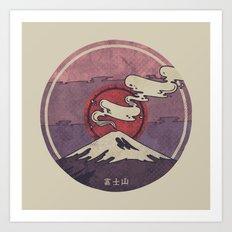 Fuji Art Print