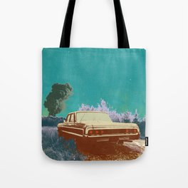 EVENING EXPLOSION Tote Bag