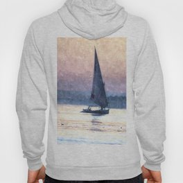 Felucca Water Colour Hoody