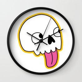 Blep Skull Wall Clock