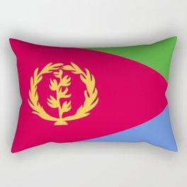 Eritrea flag emblem Rectangular Pillow