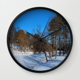 Frozen in Time Wall Clock