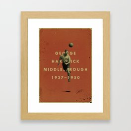 Middlesbrough - Hardwick Framed Art Print