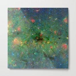 Celestial Cosmic Dusty Cloud Space Galaxy Metal Print