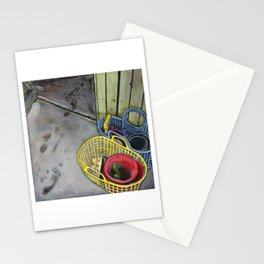 Beach Toys After The Beach Stationery Cards