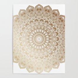 Gold Mandala 20 Poster