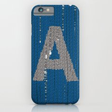 Winter clothes. Letter A. Slim Case iPhone 6s