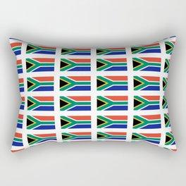 flag south africa 2,  African,Afrikaans,Mandela,apartheid, Johannesburg,Soweto,Pretoria,Durban,Tembi Rectangular Pillow