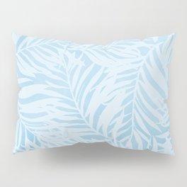 blue soft leaves Pillow Sham