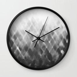 Diamond Fade in Grey Wall Clock